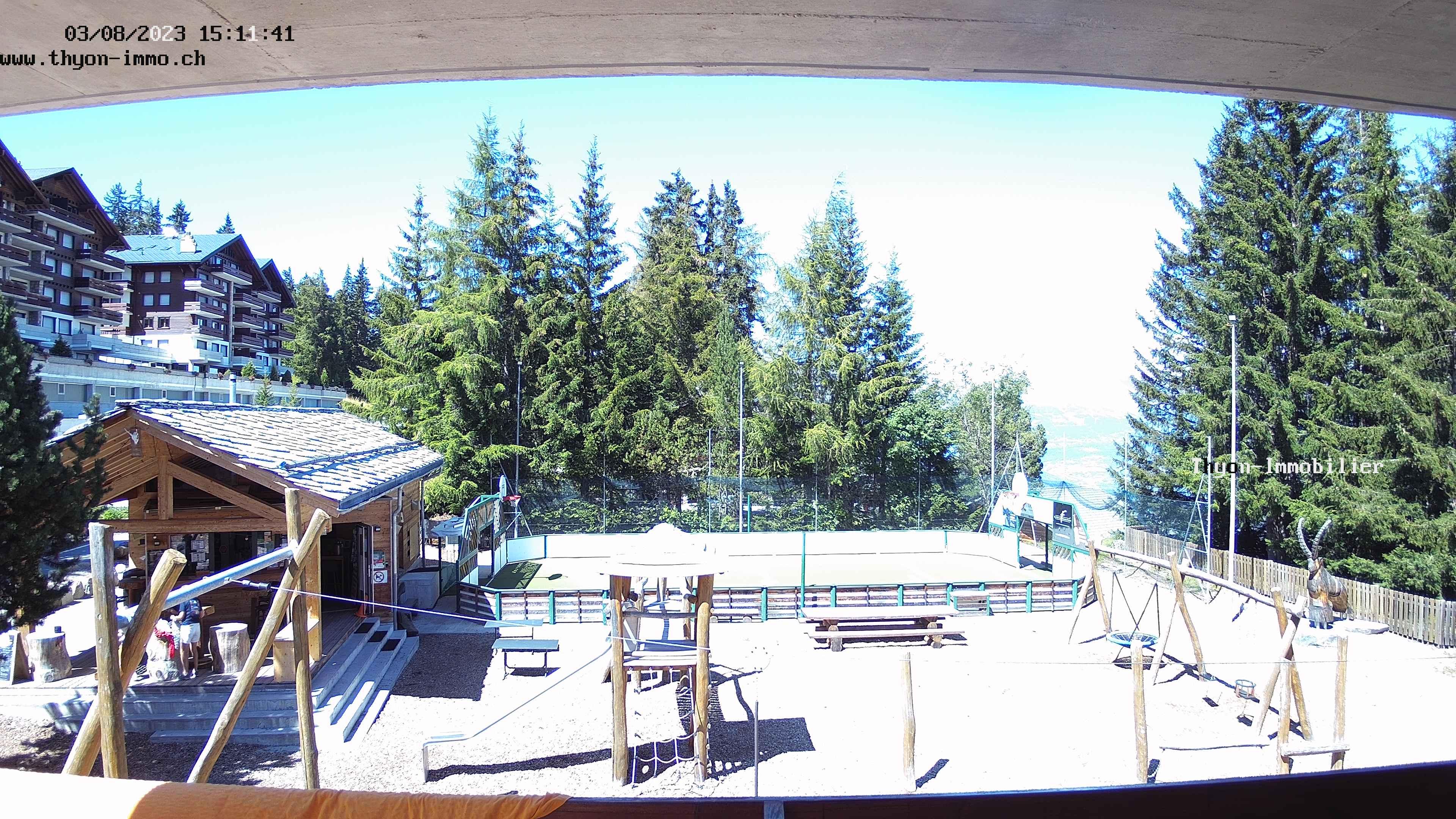 Place de jeux des Collons (Thyon 1800)